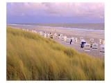 Beach, Rantum, Sylt, Schleswig-Holstein, Germany Prints