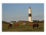Lighthouse in Kampen, Sylt, Schleswig Holstein, Germany Prints