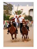 Fantasia, equestrian games in Midoun, Jerba Island, Medenine, Tunisia Posters