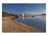 Lighthouse at Punta Faro in Palau, Province of Olbia-Tempio, Sardinia, Italy Posters