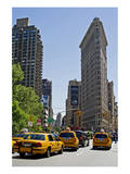 Flatiron Building on Fifth Avenue, Manhattan, New York City, New York, USA Prints