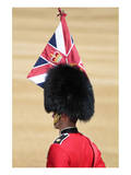 Officer at The Queen's Annual Birthday Parade Trooping the Colour Prints
