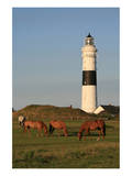 Lighthouse in Kampen, Sylt, Schleswig Holstein, Germany Posters