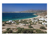 Beach in Mikri Vigla, Island of Naxos, Cyclades, Greece Art