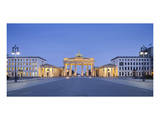 Brandenburger Tor in the evening, Berlin, Germany Posters
