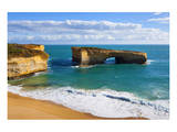 Rock Formation called London Bridge, Port Campbell National Park, Great Ocean Road, Australia Posters