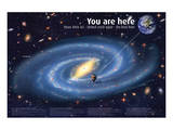 Universe: You Are Here Posters