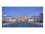 Brandenburger Tor in the evening, Berlin, Germany Poster