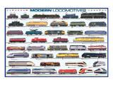 Modern Locomotives Art