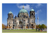 Berlin Cathedral, Berliner Dom, at Lustgarten, Berlin, Germany Prints