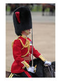 Officer at the The Queen's Annual Birthday Parade Trooping the Colour Prints