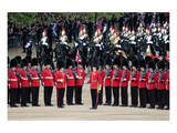 The Queen's Annual Birthday Parade Trooping the Colour, Horse Guards Parade at Whitehall, London Prints