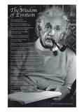 La sagesse d'Einstein Posters