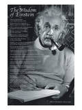 The Wisdom of Einstein Posters