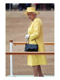 Queen Elizabeth II at her Annual Birthday Parade Trooping the Colour Prints