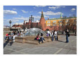 Manege Square with State Historical Museum, Moscow, Russia Art