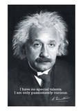 Einstein Curiosity - Poster