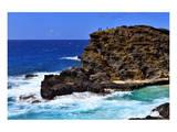Halona Beach Cove, Island of Oahu, Hawaii, USA Prints