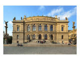 Rudolfinum in the Old Town of Prague, Central Bohemia, Czech Republic Prints