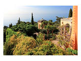 View from Villa Hanbury at Hanbury Botanic Gardens near Ventimiglia, Liguria, Italy Prints