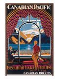 Beautiful Lake Louise in the Canadian Rockies Prints