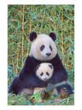 Panda And Baby Art