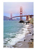 San Francisco Bay and Golden Gate Bridge, San Francisco, California, USA Prints