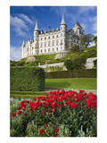 Dunrobin Castle near Golspie, Sutherland, Highland Region, Scotland, Great Britain Prints