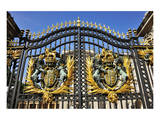 Gate of Buckingham Palace, London, South of England, United Kingdom of Great Britain Art
