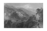 The Pass of Beilan, Mount Amanus, on the Approach from Antioch Giclee Print by William Henry Bartlett