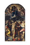 Martyrdom of St Sebastian, 1558, Altarpiece Giclee Print by Federico Barocci