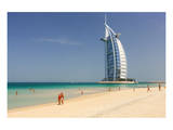 Beach at the Mina A'Salam Hotel Madinat Jumeirah with View of Burj al Arab Art