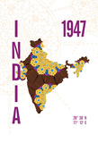 India Giclee Print by  J Hill Design