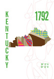 Kentucky Giclee Print by  J Hill Design
