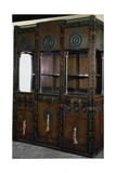 Art Nouveau Style Cabinet, Ca 1900 Giclee Print by Carlo Bugatti