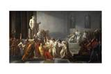 The Death of Julius Caesar, 1805-1806 Giclee Print by Vincenzo Camuccini