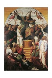 St Augustine in Glory Disputing with Heretics Giclee Print by Marco Cardisco