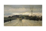 Crossing of Apennines, 1867 Giclee Print by Giuseppe De Nittis