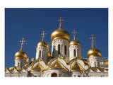 The Cathedral of the Annunciation in the Moscow Kremlin, Moscow, Russia Prints