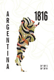 Argentina Giclee Print by  J Hill Design