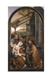 Nativity or Adoration of Shepherds Giclee Print by Moretto Da Brescia