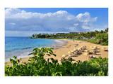 Wailea Beach at the Four Seasons Hotel, Wailea, Island of Maui, Hawaii, USA Posters