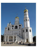 Ivan the Great Bell Tower at the Cathedral Square on the grounds of the Moscow Kremlin, Moscow Posters
