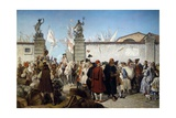 Proclamation of Free Port of Trieste, 1719 Giclee Print by Cesare Dell'acqua