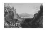 Approach to Antioch, the Ancient Anathoth, from Aleppo Giclee Print by William Henry Bartlett