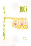 Oklahoma Giclee Print by  J Hill Design