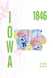 Iowa Giclee Print by  J Hill Design
