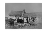 Eviction on the Olphert Estate, Falcarragh, County Donegal, Ireland, 1888 Giclee Print by Robert Banks