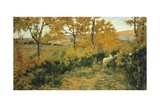 Golden Forest in Montemiccioli, 1891 Giclee Print by Niccolo Cannicci