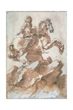 Sketch for Louis XIV on Horseback Giclee Print by Gian Lorenzo Bernini